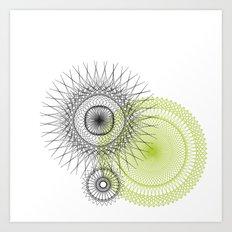 Modern Spiro Art #3 Art Print