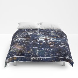 Celestial Charts Comforters