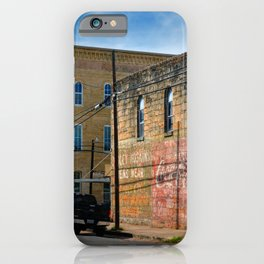 Gonzales County iPhone Case