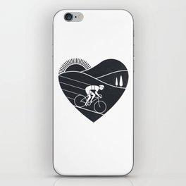 Love Cycling iPhone Skin