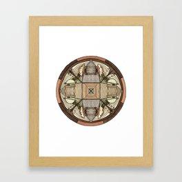 ANCIENT FUTURE CITY Framed Art Print