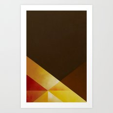 Jazz Festival 2012 (Number 1 in a series of 4) Art Print