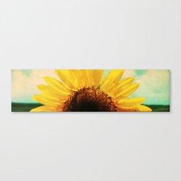 The Energy of Sunflower Canvas Print