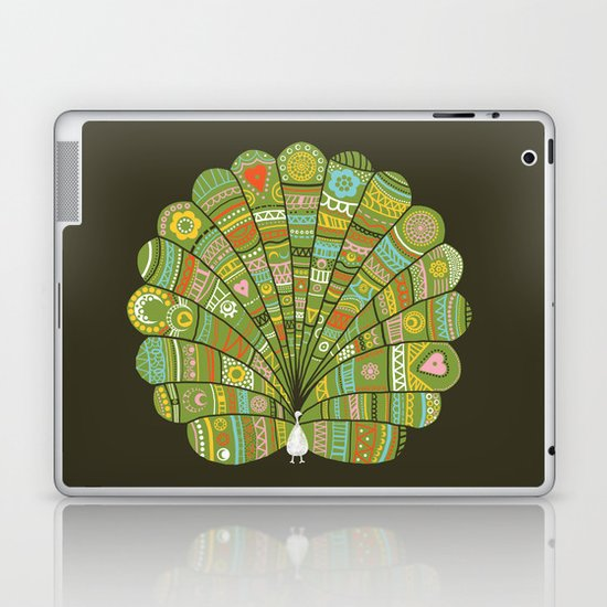 Peacock at Dawn Laptop & iPad Skin