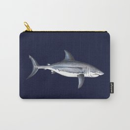Great White Shark Deep Blue Carry-All Pouch