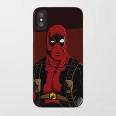Deadpool iPhone X Slim Case