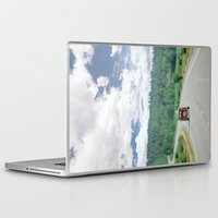 explore Laptop & iPad Skins featuring EXPLORE  by Leslee Mitchell