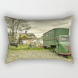 The Scammel Scarab Rectangular Pillow
