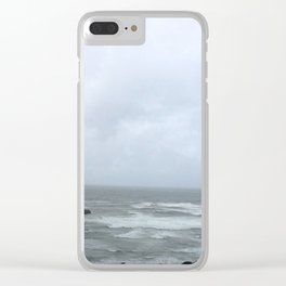 Crooked Lookout Clear iPhone Case