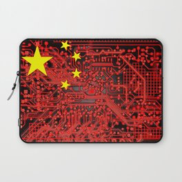 circuit board Flag (China) Laptop Sleeve