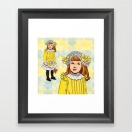 Golden Rod Framed Art Print