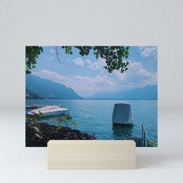 lake geneva, switzerland viii Mini Art Print