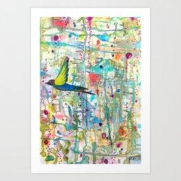 faire surface Art Print