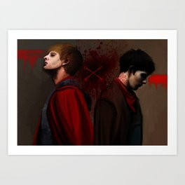 Two Sides of the Same Coin Art Print