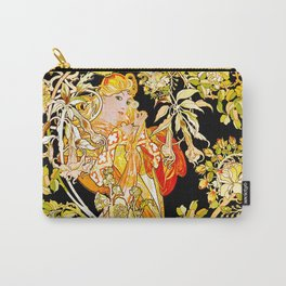 Marguerite's Bower, Mucha Carry-All Pouch