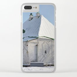 the old building of the Treasury Clear iPhone Case