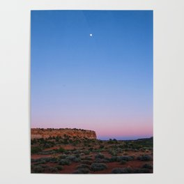 Moab Sunset Poster