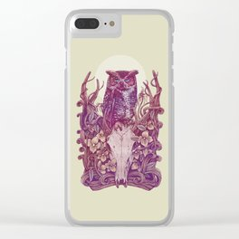 Above Head Clear iPhone Case