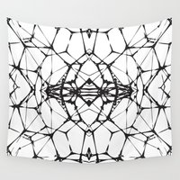 dna Wall Tapestries featuring DNA by kartalpaf