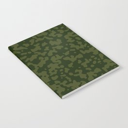 Comp Camouflage / Green Notebook