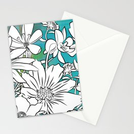 Flower Meadow Stationery Cards