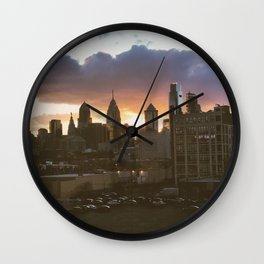 philly #views Wall Clock