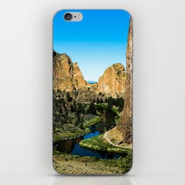 Rocks + River // Hiking Mountains Colorado Scenic View Landscape Photography Forest Backpacking Vibe iPhone Skin
