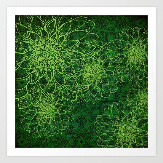 The Green Manalishi Art Print