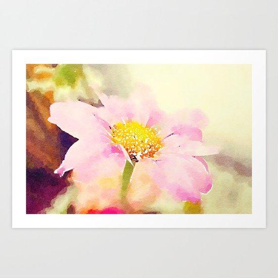 Pink 1 Art Print
