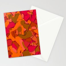 red camouflage Stationery Cards