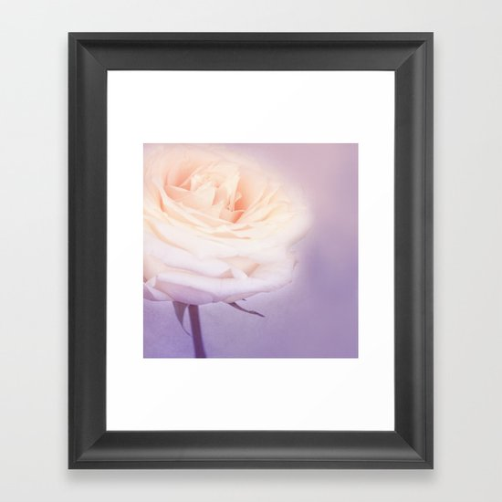 GRAZIA PURPLE Framed Art Print