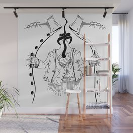 Cossack roots Wall Mural