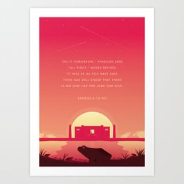 Plague Of The Frogs Art Print