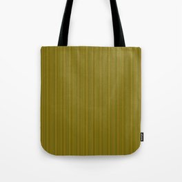Yellow and Black Honey Bee Vertical Pin Stripe Tote Bag