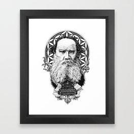 Tolstoy Framed Art Print