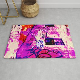 Curious to the Point of Destruction Rug