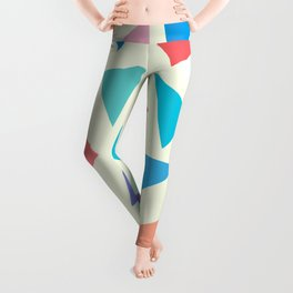 Colorful geometric pattern II Leggings