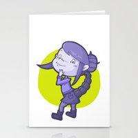 scorpio Stationery Cards featuring Scorpio by Chiara Zava
