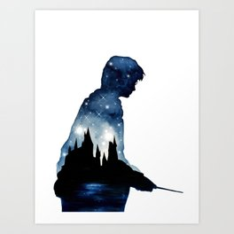 HarryPotter Art Print