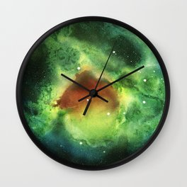 Ring Nebula Wall Clock