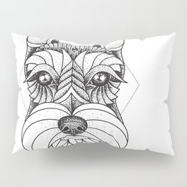 Schnauzer Pillow Sham