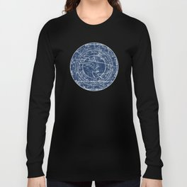 Taurus sky star map Long Sleeve T-shirt