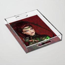 Chica Alienigena Acrylic Tray