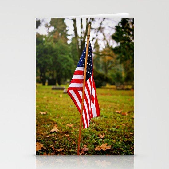American symbolism Stationery Cards