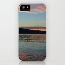Lake Coeur D'Alene iPhone Case