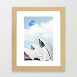 Sydney, Australia Travel Poster Framed Art Print