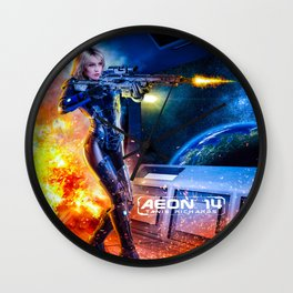 Tanis Richards - Outsystem Wall Clock