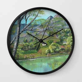 Lake District Wall Clock