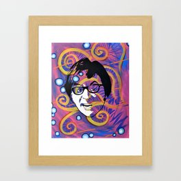 Yeah, Baby!  Framed Art Print