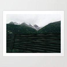 Hallstatt VI Art Print